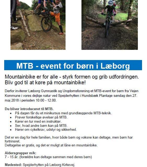 MTB-Event for børn og unge