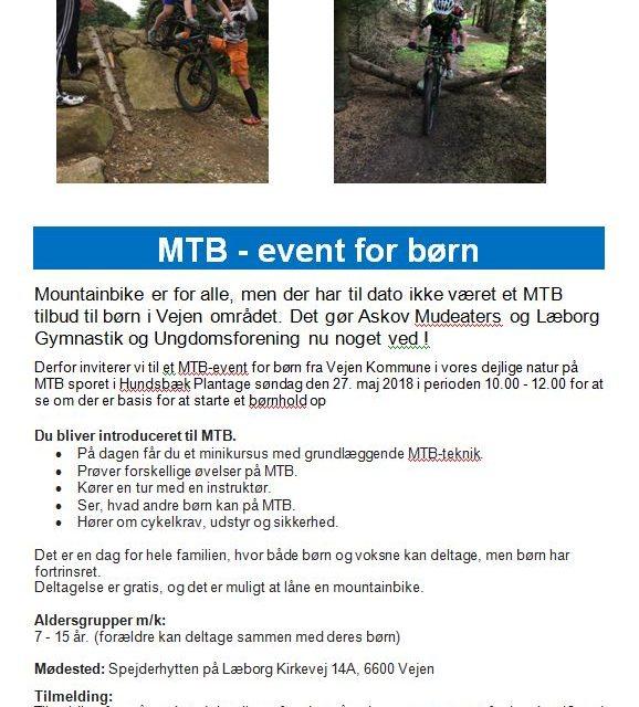 MTB for børn med Mudeaters og LGU